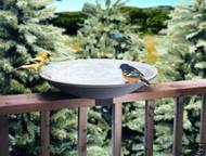 "Allied Precision Non-Heated Deck Mount Bird Bath 20"""