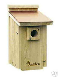 Audubon Copper Top Bird House
