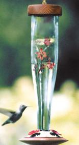 Schrodt Floral Hummingbird Lantern
