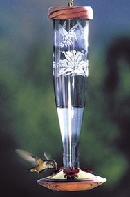 Schrodt Paradise Sapphire Hummingbird Lantern