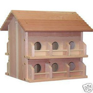 Heath Purple Martin 12 Room House
