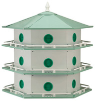 Heath Purple Martin 18 Room House