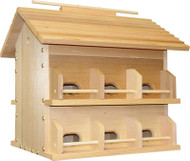 Heath Wood Purple Martin 12 Room House