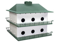 Heath Plastic Purple Martin 12 Room House
