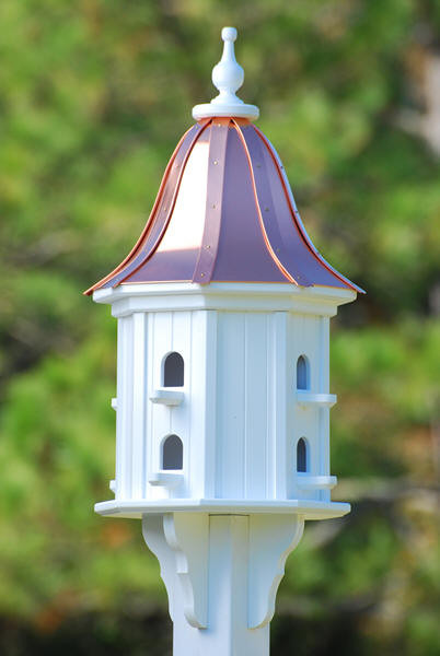 3 4 In Octagon Bird Toys : Fancy home products purple martin bird houses decorative