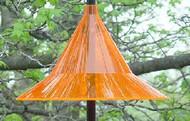 Sky Cafe Arundale Mandarin Hanging Baffle Orange