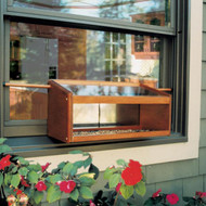 Coveside Mirrored Windowsill Bird Feeder