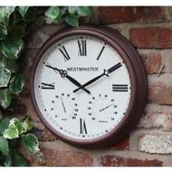 Luster Leaf Stratford Clock 20056