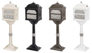 Gaines Classic Series Mailboxes w/ Satin Nickel Accents (More Colors Available)