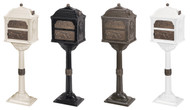 Gaines Classic Series Mailboxes w/ Antique Bronze Accents (More Colors Available)