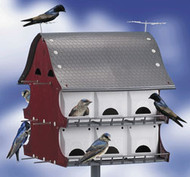 S&K 16-Family Best Purple Martin Barn House BH16