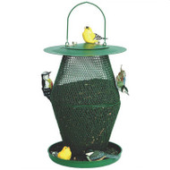 No No Red & Brass 3 Tier Standard Cardinal Bird Feeder