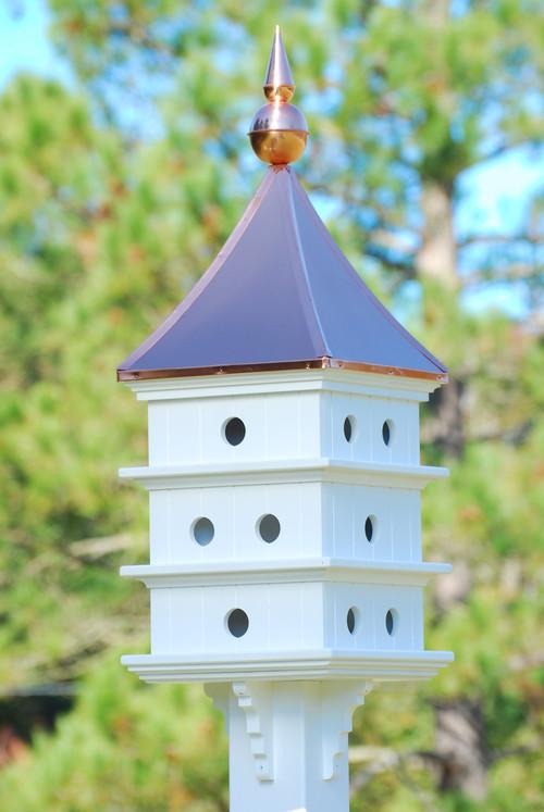 Lazy Hill Farms Ultimate Purple Martin House Cupola Purple Martin House Decorative Bird House