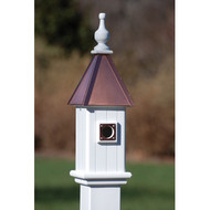 "Fancy Home Products Blue Bird House Bright Copper 6"" BH6-BC"