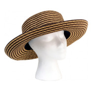 Sloggers Faby Braided Short Hat Light Brown