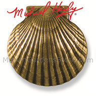 Michael Healy Bay Scallop Door Knocker in Brass MH1081