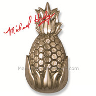 Michael Healy Hospitality Pineapple Door Knocker in Nickel Silver MH1503