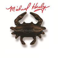 Michael Healy Blue Crab Doorbell Ringer in Oiled Bronze MHR48