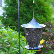 Byer of Maine Alcyon Pagoda Bird Feeder in Cobalt Blue SF41100