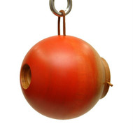 Byer of Maine Globe Bird House Mango Tree Collection in Orange MTCD115O