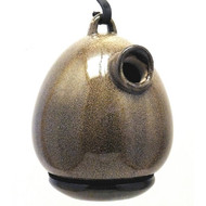 Byer of Maine Alcyon Egg Bird House in Sandy Granite SH41222