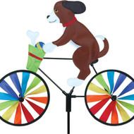 Premier WindGarden 20 inch Puppy Bicycle Spinner