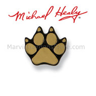 Michael Healy Dog Paw Doorbell Ringer in Brass MHR40