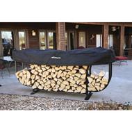 "Woodhaven Courtyard Firewood Log Rack 108""x15""x51"""