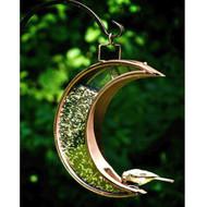 """Good Directions Crescent Moon Bird Feeder Venetian Bronze 14.5""""x12.5"""" 114VB"""