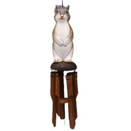Bobbo Bamboo Chime Squirrel Windchime