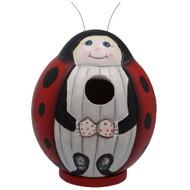 Bobbo Birdhouse Gord-O Ladybug