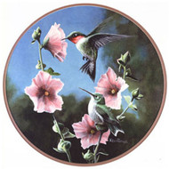 Glassmasters Ruby-throated Hummingbird