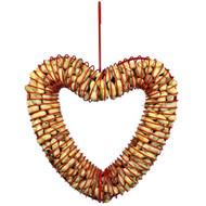 PineBush Heart Peanut Feeder