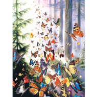 SunsOut Puzzle Butterfly Woods Mini 100 pcs