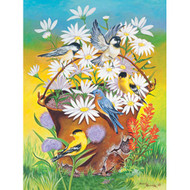 SunsOut Puzzle A Bucket of Birds Mini 100 pcs