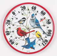 Accurite Designer Edition 12 1/2 inch In/Outdoor Songbirds Thermometer