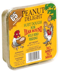 C&S Products 11.75 oz. Peanut Delight-Suet Dough