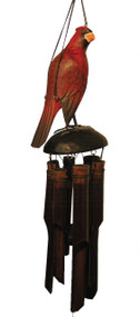 Cohasset Imports Cardinal Wind Chime