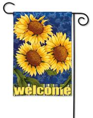 Magnet Works Sunburst Garden Flag