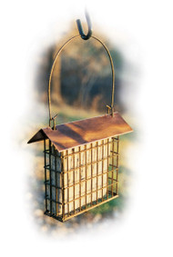 Woodlink Copper Top Single Suet Cage