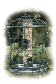 Woodlink Caged Seed Tube Feeder 2