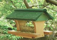 Songbird Essentials 12 inch Pivot Roof Bird Feeder