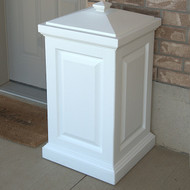 Mayne Berkshire Storage Bin White