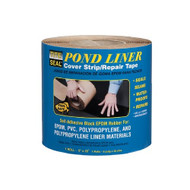 """Tite Seal EPDM Pond Liner Cover Strip / Repair Tape 5""""x25' PLCS525"""