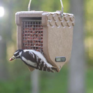 BIRDS CHOICE PEANUT FEEDER(RECYCLED) BIRD FEEDER