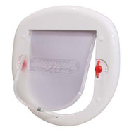 PetSafe 4 Way Big White Lock Cat Flap