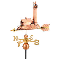 Good Directions Lighthouse Weathervane - Polished Copper 624P