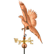 Good Directions Pheasant Weathervane - Polished Copper 656P