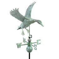 Good Directions Landing Duck Weathervane - Blue Verde Copper 9605V1