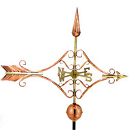 Good Directions Victorian Arrow Weathervane - Polished Copper 9642P